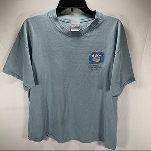 Vintage 90s Disney Channel T Shirt Beefy Hanes XL